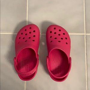 Toddler girls Crocs